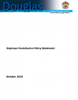 DBC Employer Contribution Policy Statement