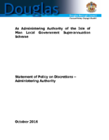 Policy Statement – Administering Authority
